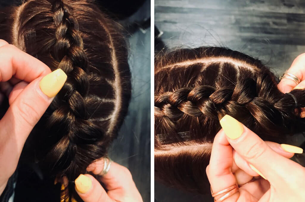 Diy Tutorial Styling With Extensions Grand Salon Denver